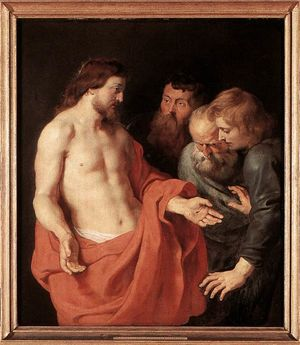 1280px Peter Paul Rubens The Incredulity of St Thomas WGA20193